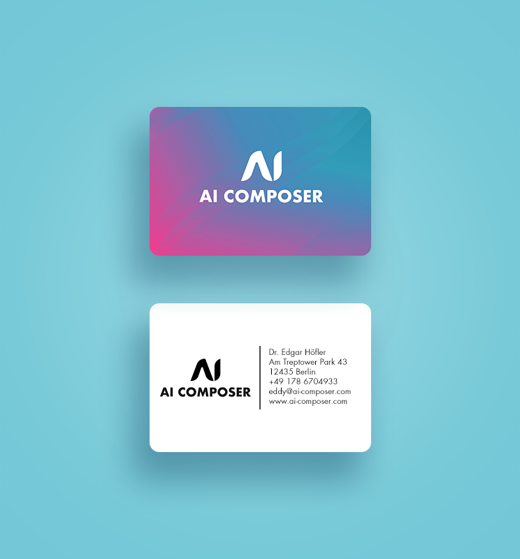 Branding and logo for AI Composer