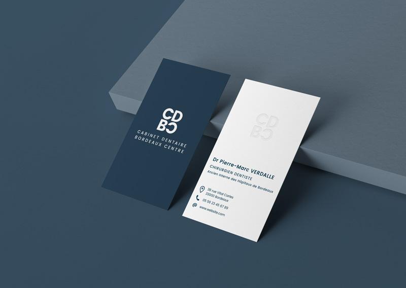 Business cards for dental medical center